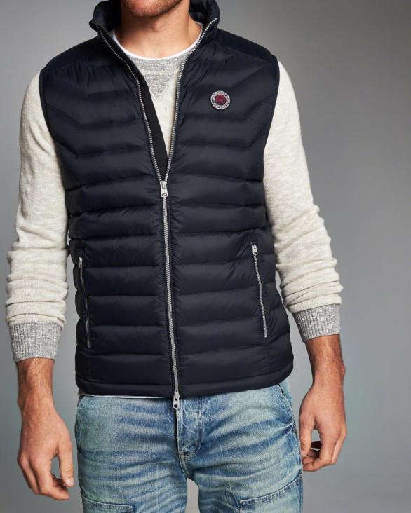 Lightweight Puffer Vest by A&F