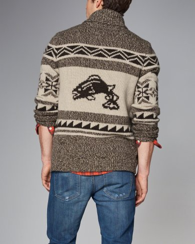 Trout Knit Cardigan by A&F