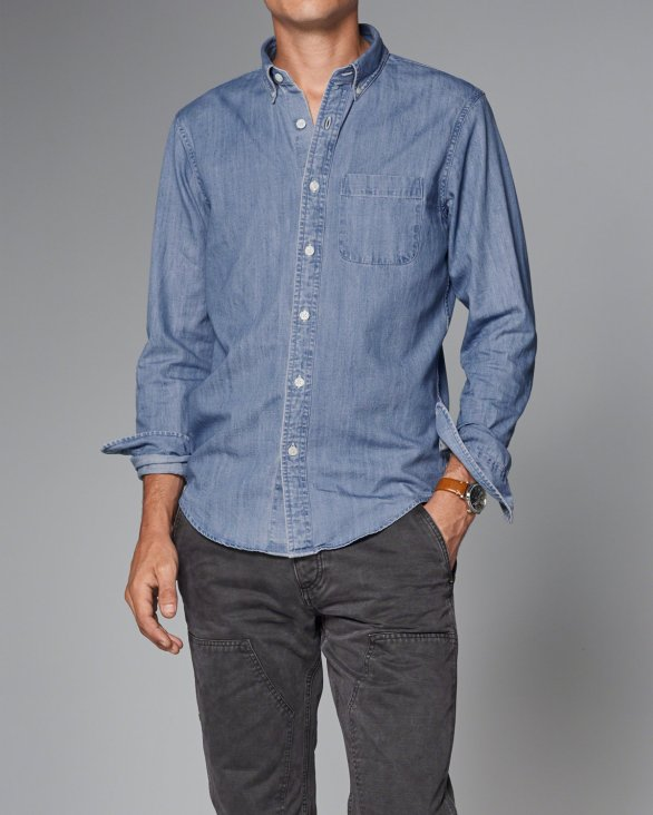 Denim Shirt by A&F