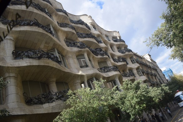 Building planned and built by Gaudi