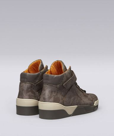 High-Top Leo Camouflage sneakers by Roberto Cavalli
