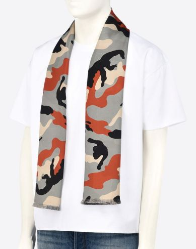 Printed Scarf by Valentino