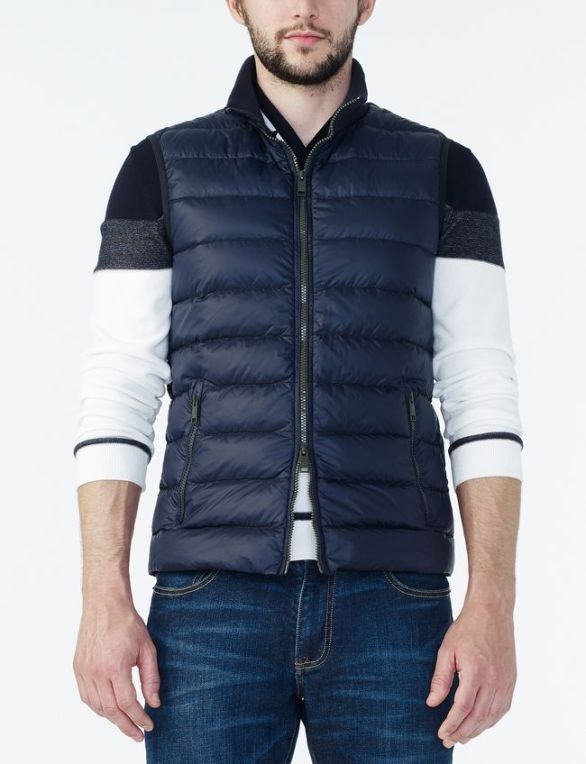 QUILTED DOWN VEST by ARMANI EXCHANGE