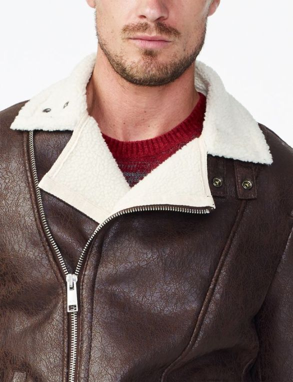 FAUX-SHEARLING COAT by ARMANI EXCHANGE