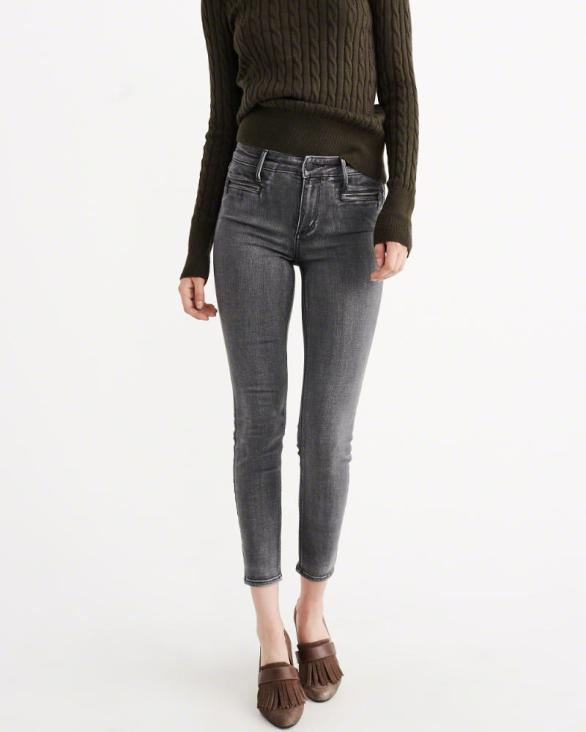 Ankle Jeans Abercrombie & Fitch