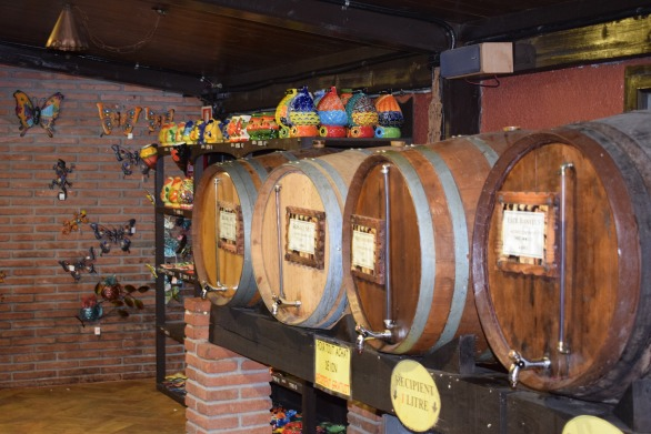 Barrels in the Store of Meat and Wine - Bodega El Paratge