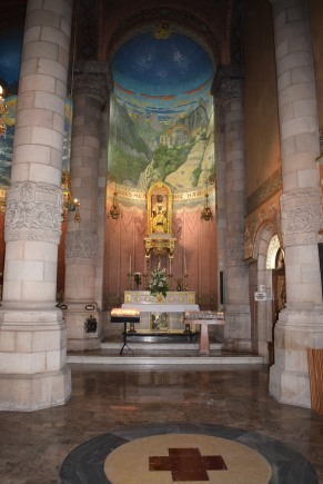 Interior of Sagrat Cor Church
