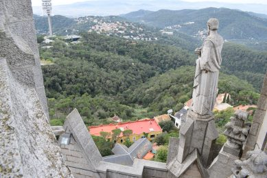 View From The Top Of The Church