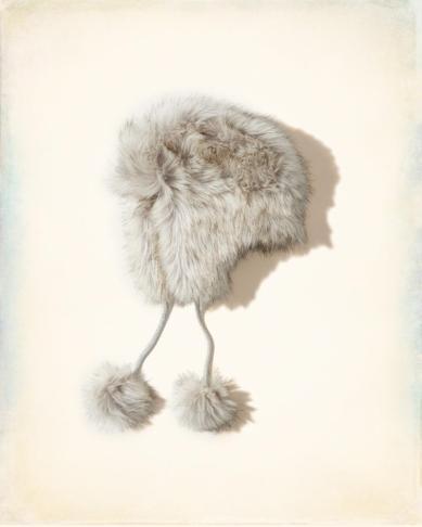 Faux Fur Hat by HOLLISTER