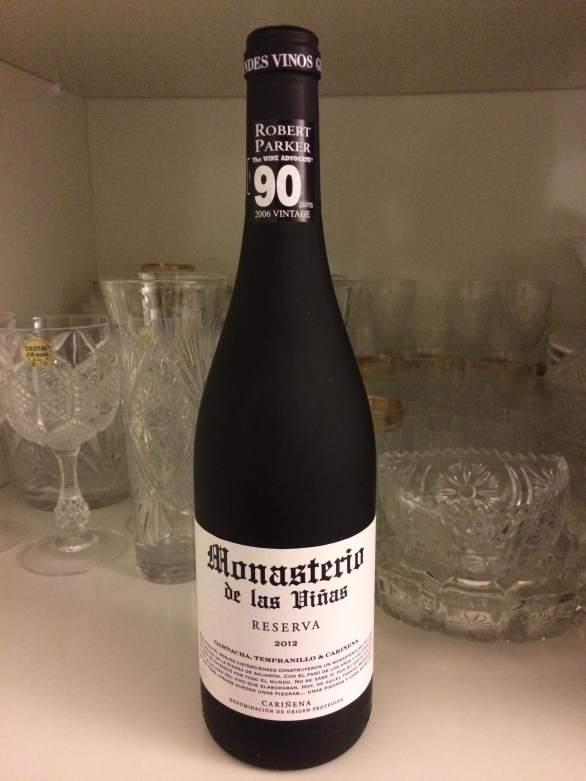 2012 Reserve Spanish Wine