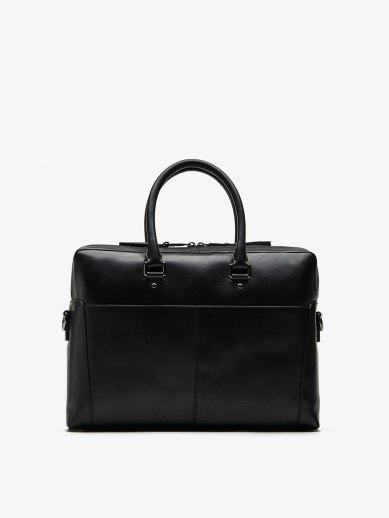 LEATHER BURTON BRIEFCASE